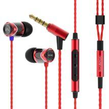 SoundMAGIC E10C In-Ear fülhallgató headset hangerőszabályzóval Fekete-Piros b1042b68d1