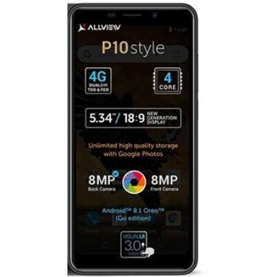 Allview P10 Style Dual Sim fekete