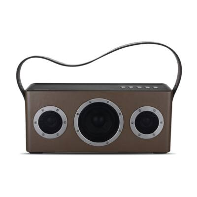 GGMM M4 hordozható digitális hangsugárzó Barna