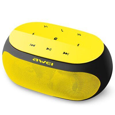AWEI Y200 hordozható Bluetooth hangszóró Sárga