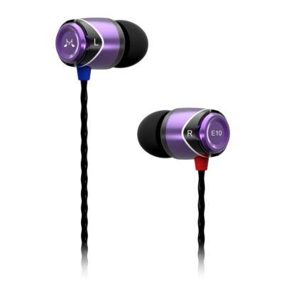 SoundMAGIC E10 In-Ear fülhallgató Lila-Fekete