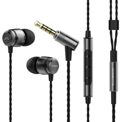 SoundMAGIC E50C In-Ear fülhallgató headset Gunmetal