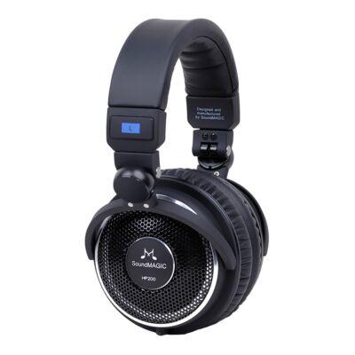 SoundMAGIC HP200 Over-Ear fejhallgató Fekete