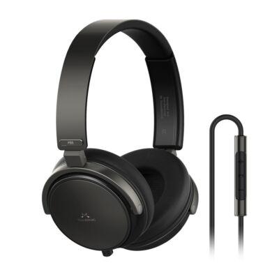 SoundMAGIC P55 On-Ear fejhallgató headset Gunmetal