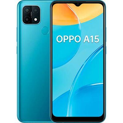 Oppo A15 3/32 GB Dual Sim kék