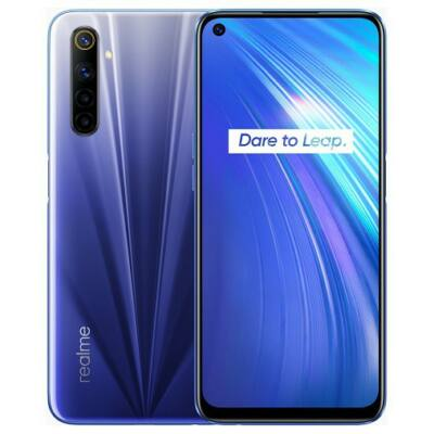 Realme 6 4/128 GB Dual Sim kék