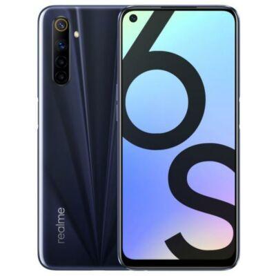 Realme 6S 4/64 GB Dual Sim fekete
