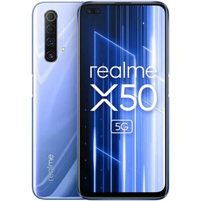 Realme X50 5G 6/128GB Dual Sim ezüst