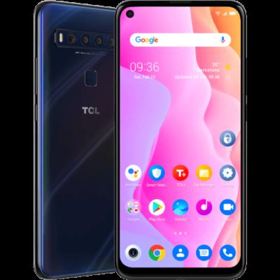 TCL 10L 64 GB Dual Sim kék