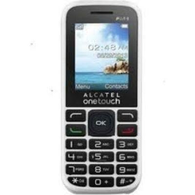Alcatel 10.50D Dual Sim fehér