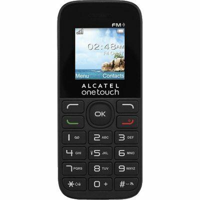 Alcatel 10.50D Dual Sim fekete