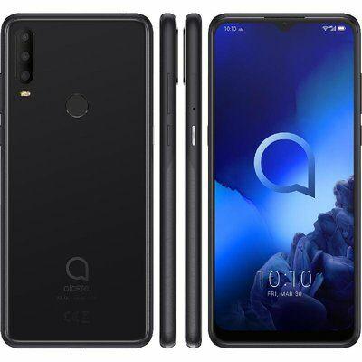 Alcatel 3X 2019 5048Y 64 GB Dual Sim fekete
