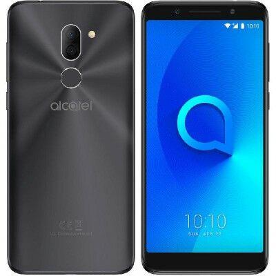 Alcatel 3X 5058 Dual Sim fekete