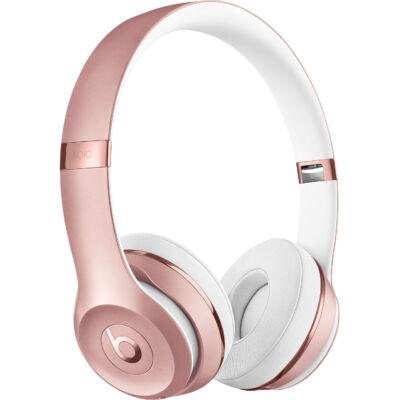 Apple Beats Solo3 vezeték nélküli fejhallgató rozé arany