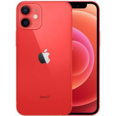 Apple iPhone 12 mini 64GB piros