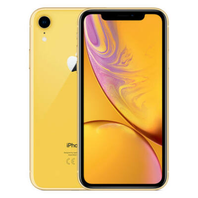 Apple iPhone XR 256GB sárga