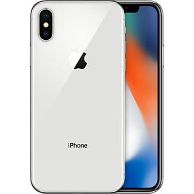 iPhone X 256GB ezüst