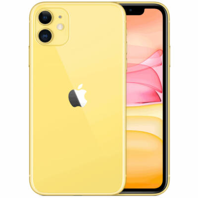 Apple iPhone 11 256GB sárga