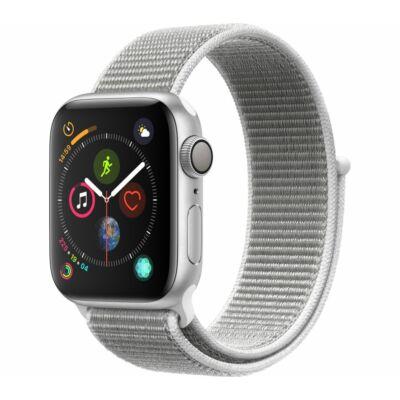 Apple Watch Series 4 40 mm Seashell Sport Loop ezüst