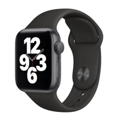 Apple Watch SE GPS 44mm + fekete sportszíj fekete