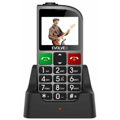 EVOLVEO EasyPhone FM (EP-800) Dual Sim ezüst