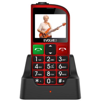 EVOLVEO EasyPhone FM (EP-800) Dual Sim piros