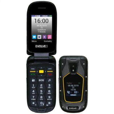 EVOLVEO SGP-F5 Dual Sim fekete-sárga