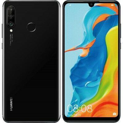 Huawei P30 Lite 64 GB Dual Sim fekete