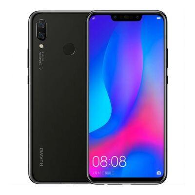 Huawei Nova 3 128 GB Dual Sim fekete