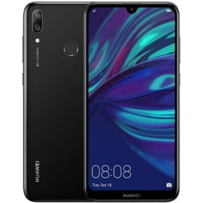 Huawei Y7 2019 Dual Sim fekete