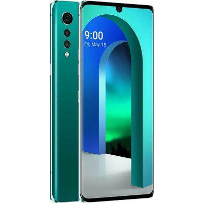 LG Velvet 5G 128 GB Dual Sim zöld