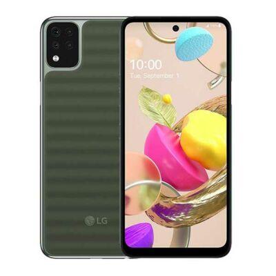 LG K42 Dual Sim zöld