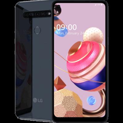 LG K51s Dual Sim titánium szürke