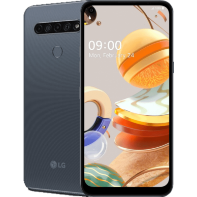 LG K61 Dual Sim titánium szürke
