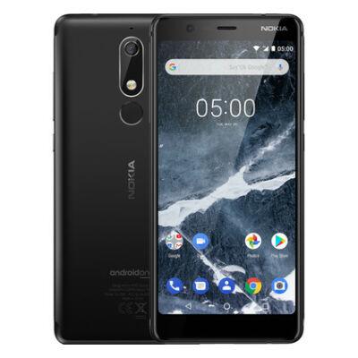 Nokia 5.1 Dual Sim fekete