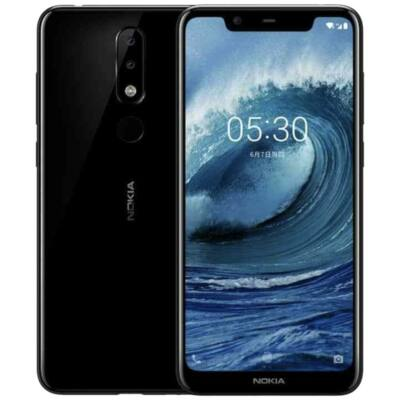 Nokia 5.1 Plus Dual Sim fekete