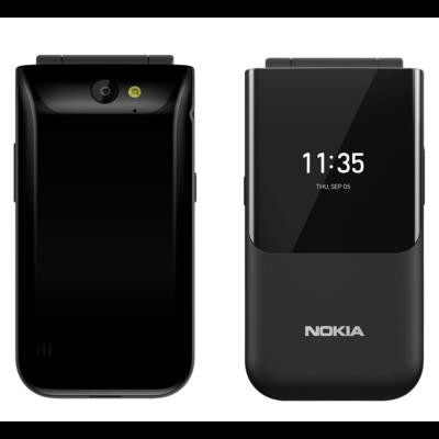 Nokia 2720 Flip Dual Sim fekete