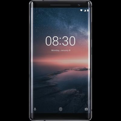Nokia 8 Sirocco fekete