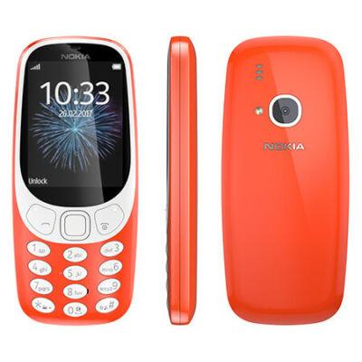 Nokia 3310 Dual Sim piros