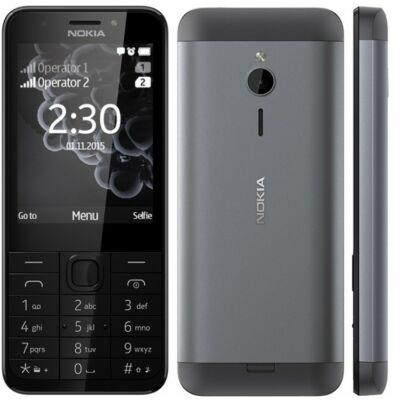 Nokia 230 Dual Sim sötétszürke