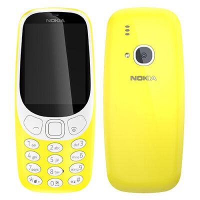 Nokia 3310 Dual Sim sárga