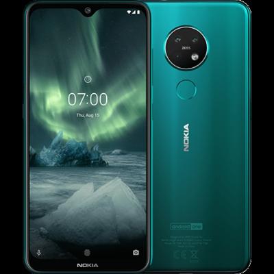 Nokia 7.2 6/128 GB Dual Sim zöld