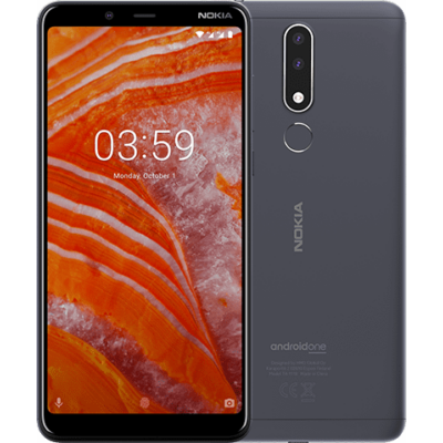 Nokia 3.1 Plus Dual Sim tengerszürke