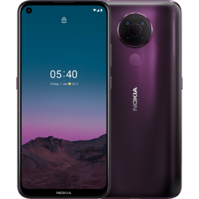 Nokia 5.4 4/128 GB Dual Sim lila