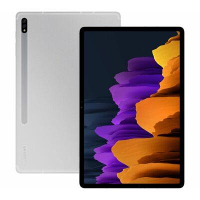 "Samsung Galaxy Tab S7 Plus 5G 12.4"" T976 LTE ezüst"