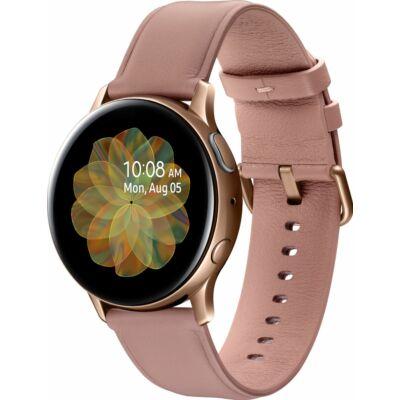 Samsung Galaxy Watch Active 2 40 mm R830 rozsdamentes acél arany