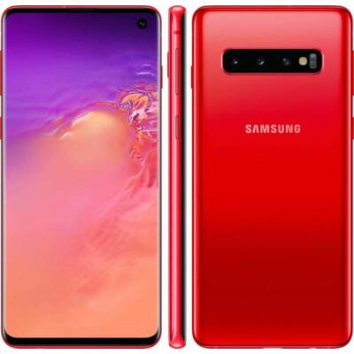 Samsung Galaxy S10 G973F 128 GB Dual Sim piros