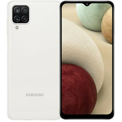 Samsung Galaxy A12 A125F 64 GB Dual Sim fehér