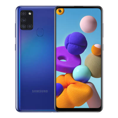 Samsung Galaxy A21s Dual Sim kék