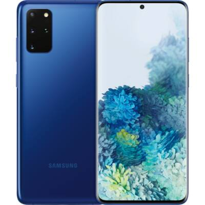 Samsung Galaxy S20+ G985 128GB Dual Sim aura kék